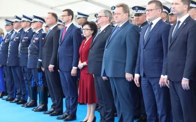 Centralne obchody Święta Policji w Warszawie w 100-lecie powstania Policji Państwowej