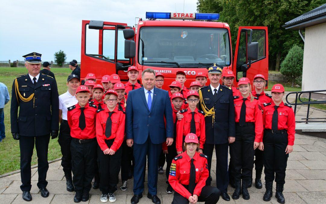 List do strażaków ochotników dotyczący wsparcia jednostek OSP