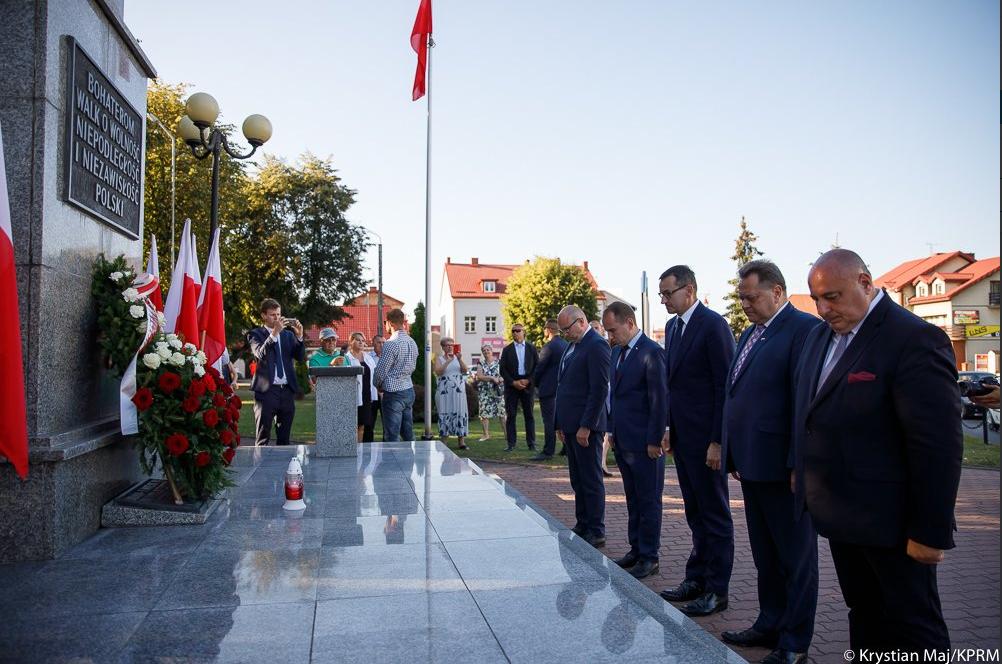Wizyta Premiera Mateusza Morawieckiego w Grajewie