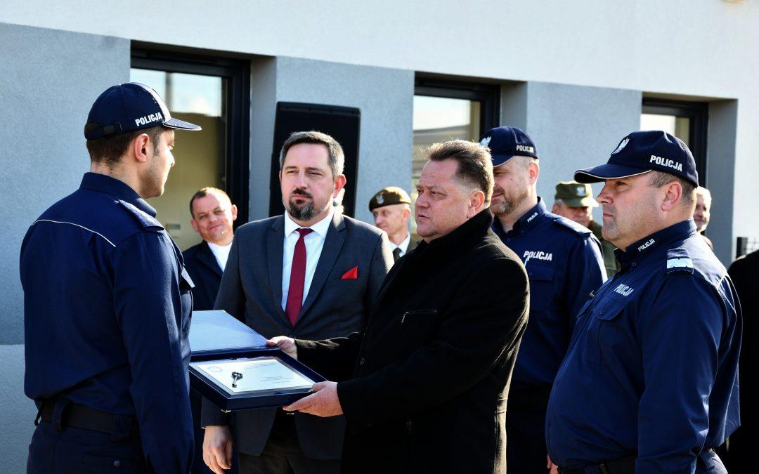 Otwarcie posterunków Policji w Zaściankach i Sokołach