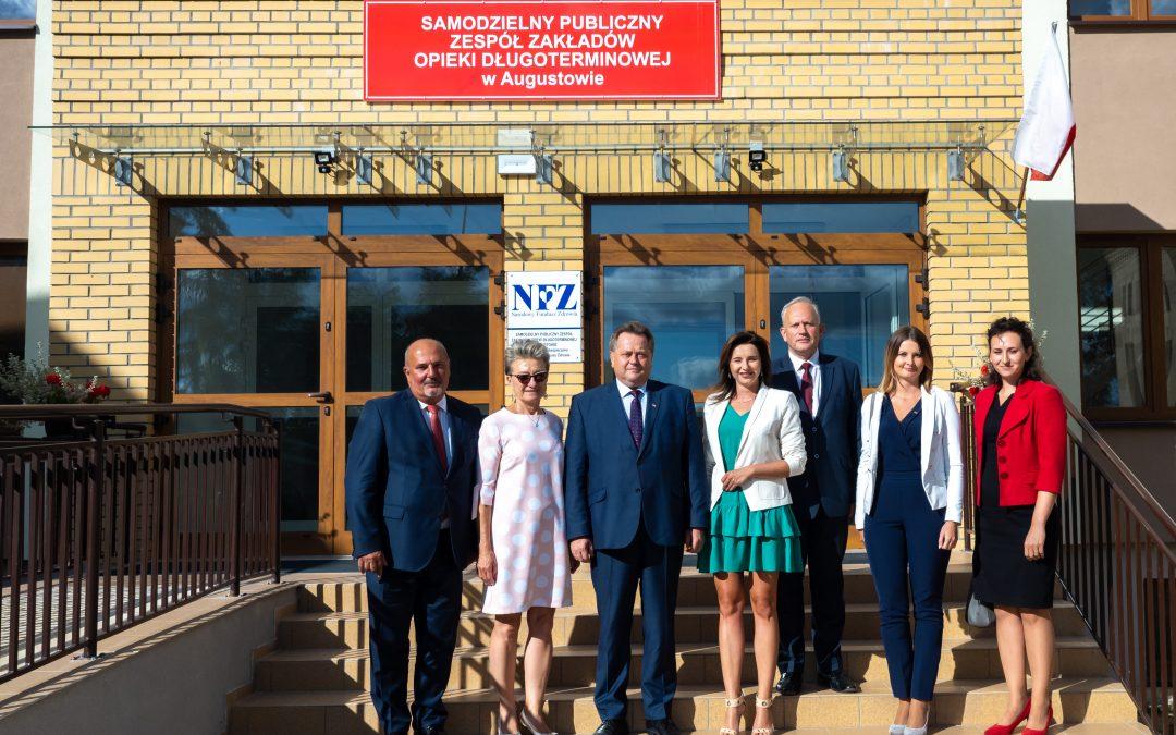 SPZZOD w Augustowie będzie mógł przyjąć więcej pacjentów
