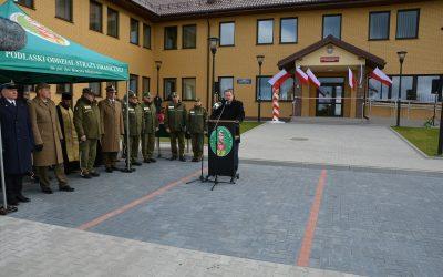 Otwarcie nowej placówki Straży Granicznej w Nowym Dworze