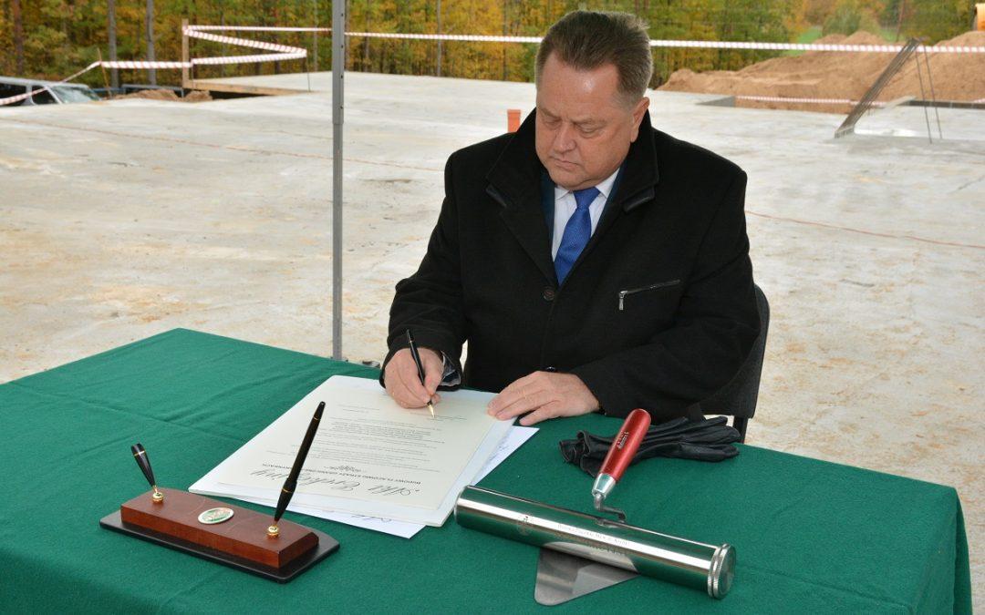 Powstaje nowy obiekt Placówki Straży Granicznej w Krynkach