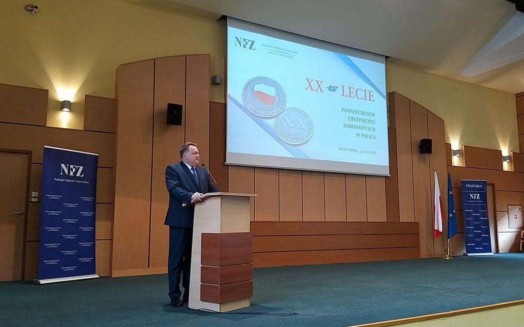 20-lecie Powszechnych Ubezpieczeń Zdrowotnych w Polsce