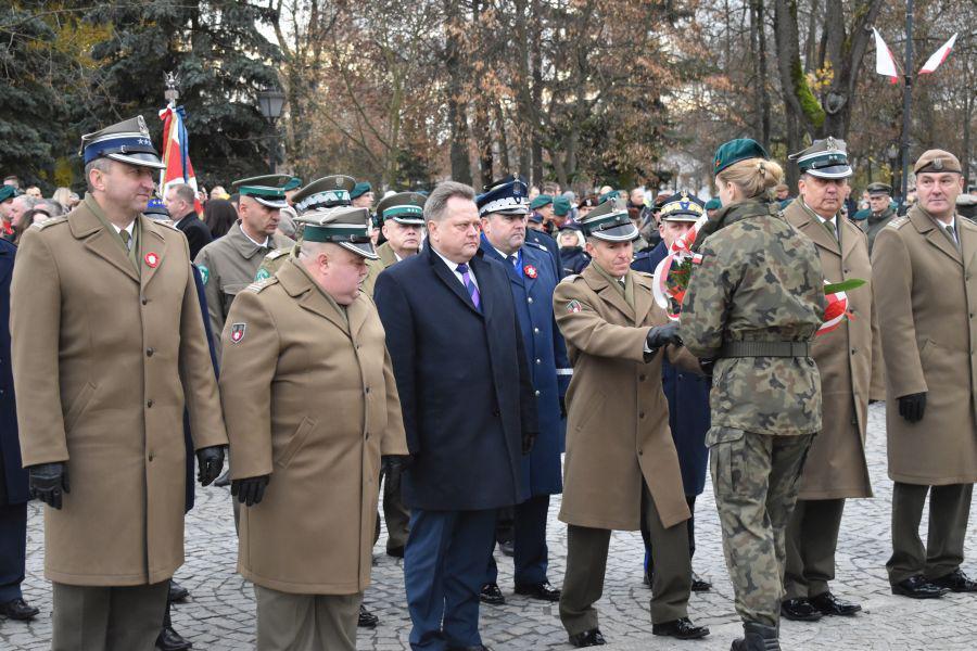 Obchody 101. rocznicy odzyskania niepodległości w Suwałkach