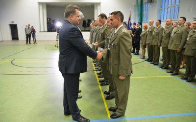 Apel służb mundurowych z okazji rocznicy Święta Niepodległości