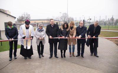 Otwarcie kompleksu sportowego przy ZST w Suwałkach