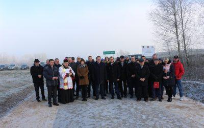 Zmodernizowany odcinek drogi w gminie Bargłów Kościelny