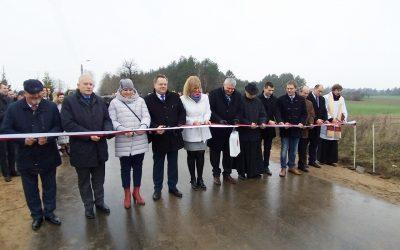 Wyremontowany odcinek drogi w gminie Sztabin
