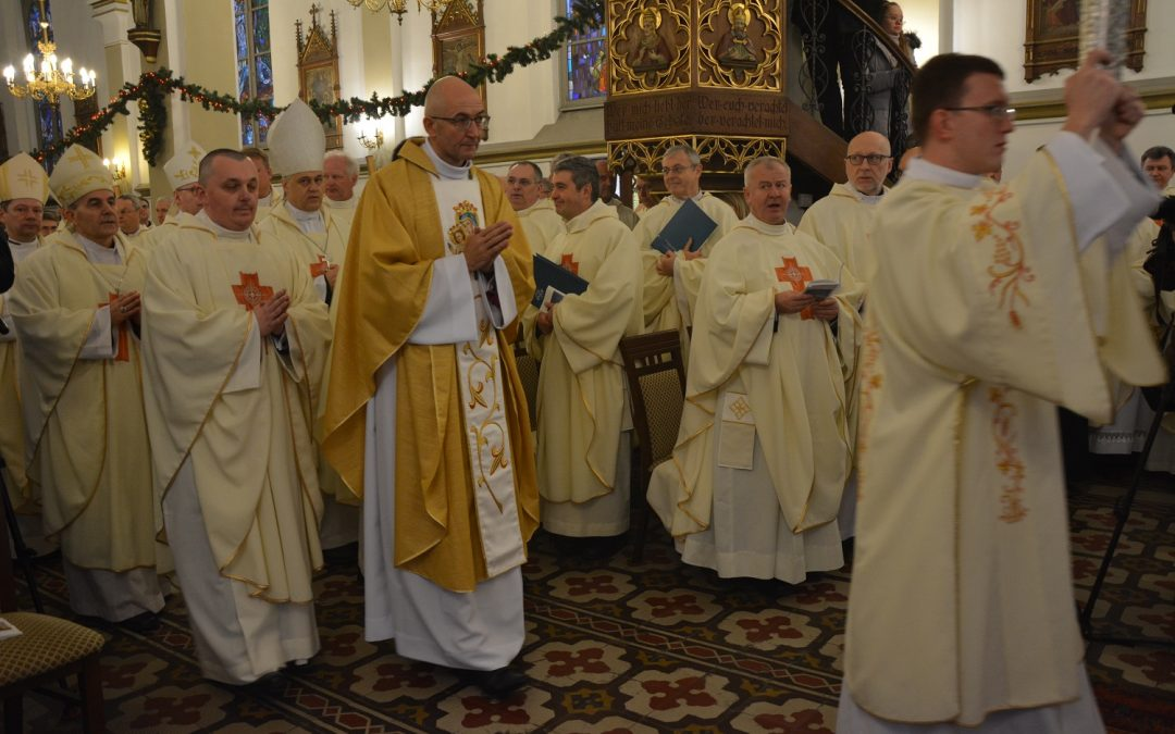 Święcenia biskupie ks. Adriana Galbasa