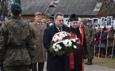 Żołnierze Wyklęci upamiętnieni w Suwałkach
