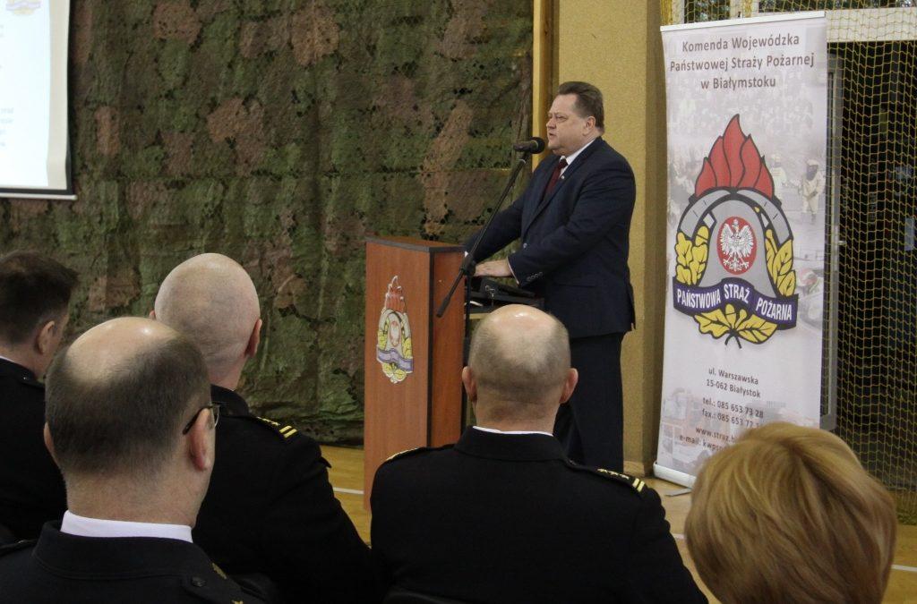 Podsumowanie funkcjonowania ochrony przeciwpożarowej województwa podlaskiego w 2019 roku