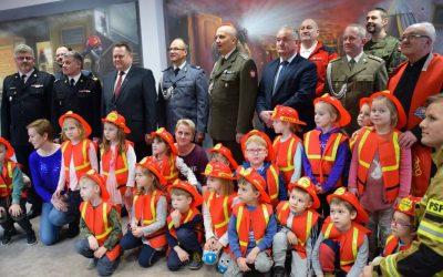 """Sala edukacyjna """"ognik"""" w Komendzie Miejskiej PSP w Suwałkach"""