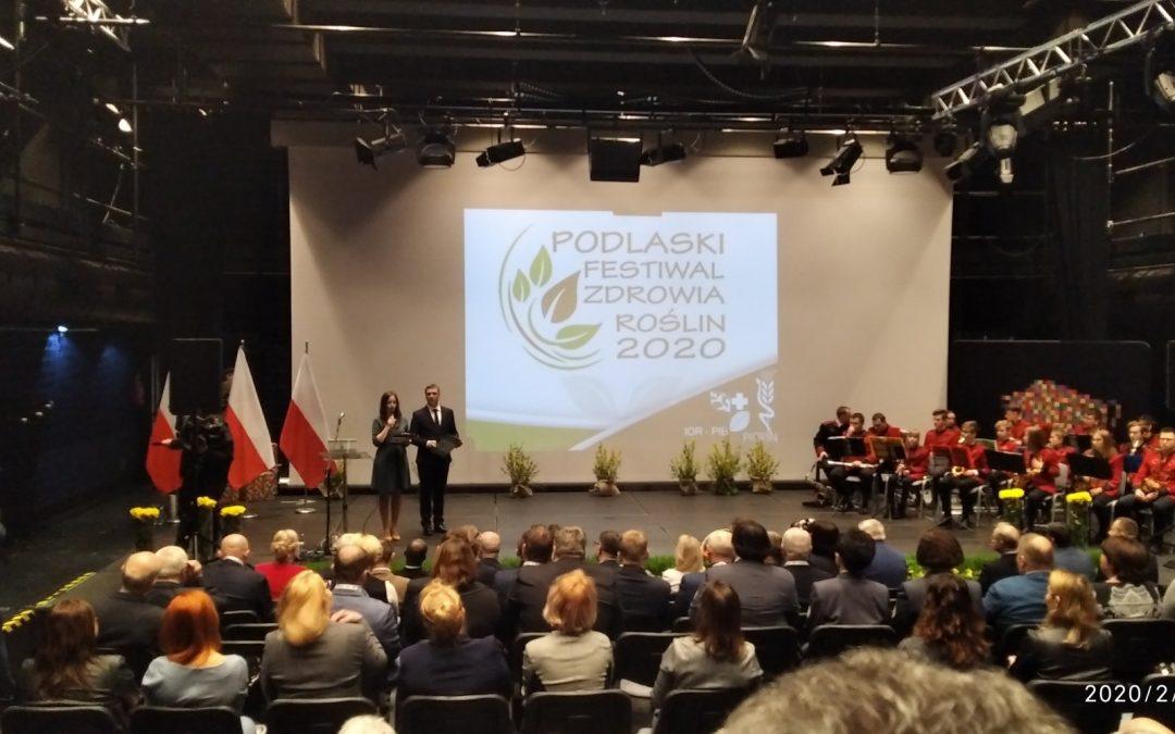 Podlaski Festiwal Zdrowia Roślin 2020