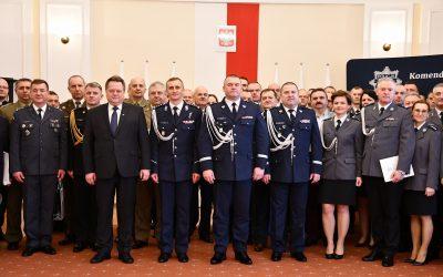 Pożegnanie z mundurem Komendanta Wojewódzkiego Policji w Białymstoku