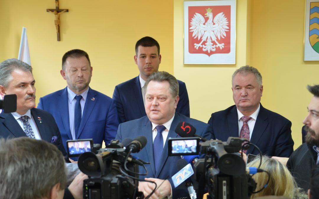 Spotkanie w Suwałkach dotyczące przebiegu Rail Baltica