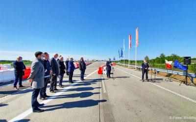 Otwarcie kolejnego odcinka drogi ekspresowej S61 – obwodnicy Szczuczyna