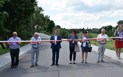 Otwarcie drogi w gminie Nowinka