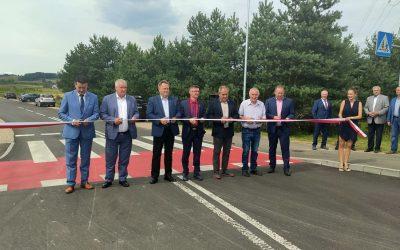 Uroczyste otwarcie drogi gminnej w Białej Wodzie