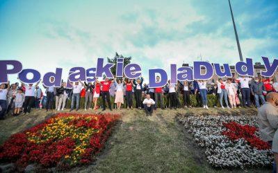 Wizyta Pana Prezydenta Andrzeja Dudy w województwie podlaskim