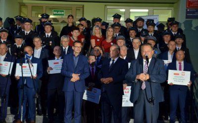 Wizyta Premiera Mateusza Morawieckiego w województwie podlaskim