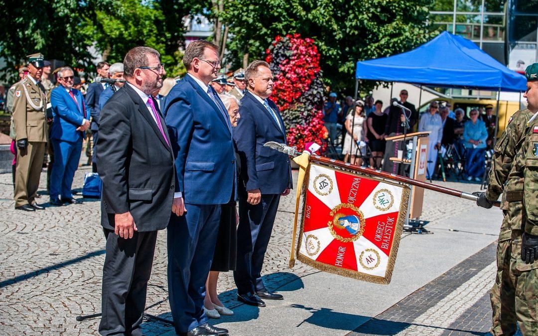Święto 1. Pułku Ułanów Krechowieckich im. płk. Bolesława Mościckiego oraz Pułku 4. Ułanów Zaniemeńskich w Augustowie