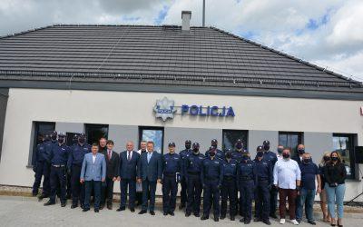 Nowy posterunek Policji w Słobódce