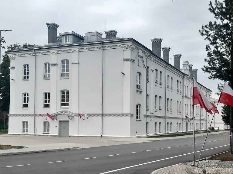 Odrestaurowany obiekt Podlaskiego Oddziału Straży Granicznej