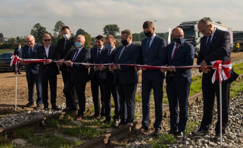 Reaktywowana bocznica kolejowa w Sokołach