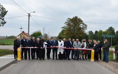 Nowe drogi w Gminie Bargłów Kościelny