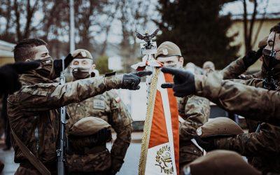 Przysięga Żołnierzy Obrony Terytorialnej w Białymstoku