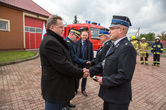 Kolejne wozy strażackie dla jednostek OSP w województwie podlaskim