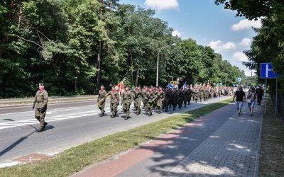 100. rocznica przybycia 1. Pułku Ułanów Krechowieckich do Augustowa