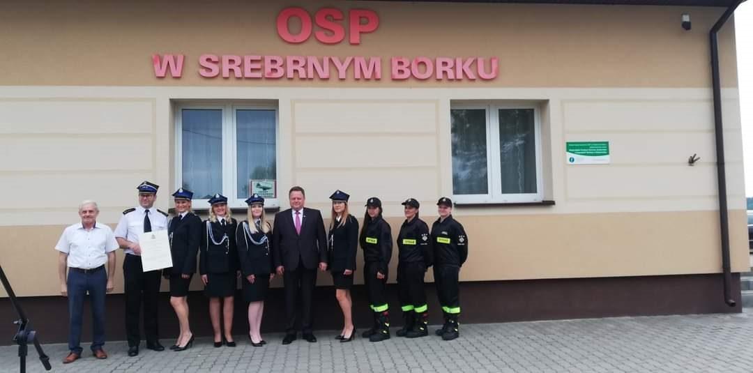 Jednostka OSP w Srebrnym Borku włączona do KSRG