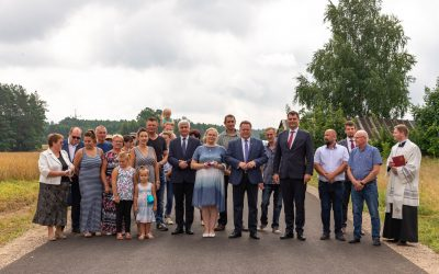 Nowa droga w Maćkowej Rudzie ( Gmina Krasnopol)
