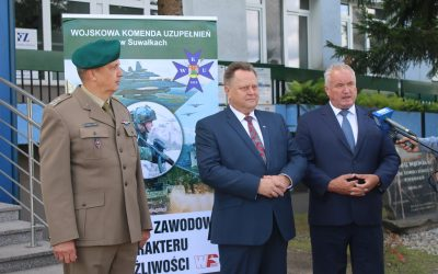 Kwalifikacja wojskowa młodych mieszkańców powiatu suwalskiego