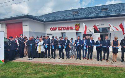 Budynek OSP w Sztabinie i świetlica wiejska – jak nowe